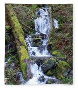 Rainforest Waterfall Fleece Blanket