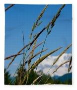 Rainier Weeds Fleece Blanket