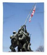 Raise The Flag Fleece Blanket