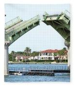 Raised Bridge Fleece Blanket