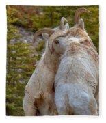Ram-bunctious Fleece Blanket