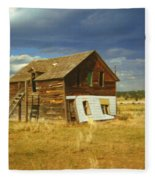Ranch House Fleece Blanket