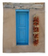 Ranchos De Taos Wall Fleece Blanket