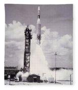Ranger 7 Launch Fleece Blanket
