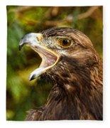 Raptor Rage Fleece Blanket