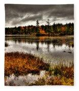 Raquette Lake In Upstate New York Fleece Blanket