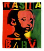 Rasta Baby Fleece Blanket