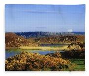 Rathlin Island, Co Antrim, Ireland Fleece Blanket