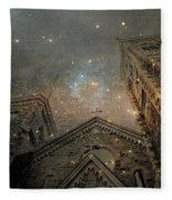 Magical Rattling Sky Fleece Blanket