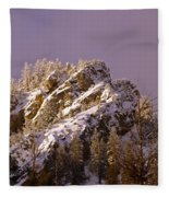 Rays Of Hope Warmth And Beauty Fleece Blanket