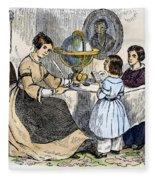 Reading, 1866 Fleece Blanket
