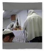 Reading The Torah Fleece Blanket