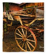 Ready For A Sunday Drive - Featured In Tennessee Treasures Group And Spectacular Artworks Group Fleece Blanket