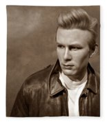 Rebel Without A Cause S Fleece Blanket