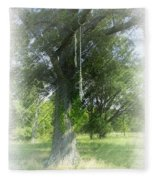 Recalling Younger Days Fleece Blanket