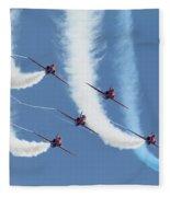 Red Arrows - Formation Magic Fleece Blanket
