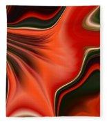 Red Beauty Fleece Blanket