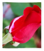 Red Bud Fleece Blanket