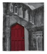 Red Door Fleece Blanket