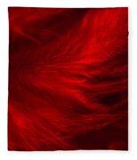 Red Feathers - 1 Fleece Blanket
