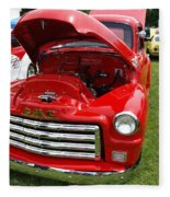 Red Gmc Fleece Blanket