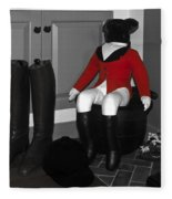 Red Riding Jacket Fleece Blanket
