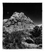Red Rock Canyon At Spring Mountain Fleece Blanket