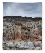 Red Rock Canyon Cliffs Fleece Blanket
