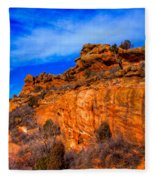 Red Rocks Park Colorado IIi Fleece Blanket