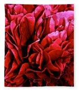 Red Ruffles Fleece Blanket