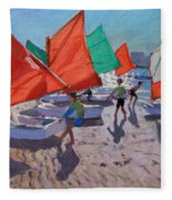 Red Sails Fleece Blanket