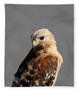 Red-shouldered Fleece Blanket