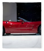 Red Vette Fleece Blanket