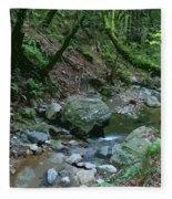 Redwood Creek Art Fleece Blanket