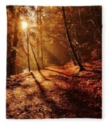 Reelig Sun Fleece Blanket