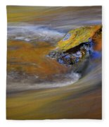 Reflected Autumn Color Fleece Blanket