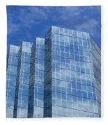Reflected Sky Fleece Blanket