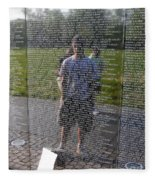 Reflection And Remembrance Fleece Blanket