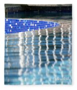Reflection Pool Fleece Blanket