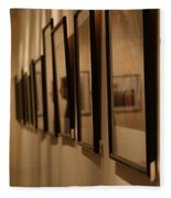 Reflections From A Series Of Painting Frames Fleece Blanket