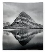 Reflections Of Grinnell Fleece Blanket