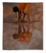 Reflections Of India Fleece Blanket