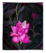 Reflective Beauty Fleece Blanket