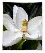 Regal Southern Magnolia Blossom Fleece Blanket