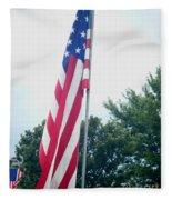Remembering 9-11 Fleece Blanket