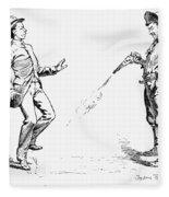 Remington: Cowboy, 1888 Fleece Blanket