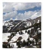 Rendezvous Mountain 2 Fleece Blanket