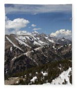 Rendezvous Mountain Fleece Blanket