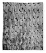 Repetition To Variation 1b Fleece Blanket