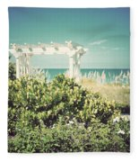 Restful-vintage Fleece Blanket